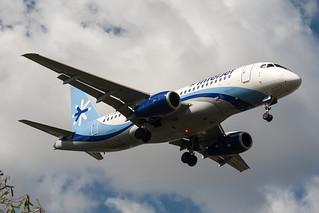 Interjet Sukhoi SuperJet 100 XA-OAA MMMD 12DEC15
