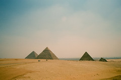 Four (Past Our Means) Tags: travel film 35mm canon pyramid kodak ae1 egypt explore cairo 400 portra giza indiefilmlab