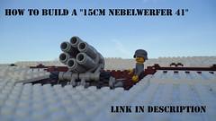 """How to build a """"15cm Nebelwerfer 41"""" (Richard_LEGOherz) Tags: army lego wwii german ww2 how build 15cm nebelwerfer 15cmnebelwerfer41"""