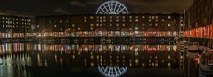 The Big Wheel (juliereynoldsphotography) Tags: city longexposure skyline night liverpool reflections juliereynolds