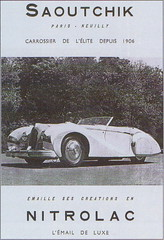 Talbot-Lago Grand Sport by  Saoutchik (1949-50) (andreboeni) Tags: classic french car automobile voitures cars automobiles autos automobili classique francais voiture retro auto oldtimer klassik classico classica publicity advert advertisement talbot lago talbotlago saoutchik grandsport carrossier carrosserie coachbuilt nitrolac