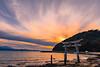Gateway to Misaki Shrine (Hiro_A) Tags: imabari ehime shikoku japan misaki shrine sunset sea setonaikai setouchi nikon d7200 sigma 1770mm 1770 landscape