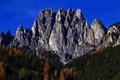 Larsec _MG_5284m(2) (maxo1965) Tags: larsec rosengartengruppe dolomites valdifassa trentinoaltoadige cliffs crags peradifassa fassatal italy herbst catinaccio