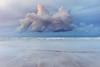 Floating (Louise Denton) Tags: cloud sunset purple pink sea ocean water beach blue seagull bird centre darwin lee point waves monsoon