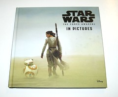star wars in pictures 4 book box set ryder windham and brian rood disney 2016 i the force awakens (tjparkside) Tags: star wars pictures 4 book box set 2016 disney lucasfilm isbn 9781760128456 episode four five six seven iv v vi vii 5 6 7 anh new hope empire strikes back tesb esb rotj return jedi force awakens tie fighter fighters millennium falcon rey jakku scavenger bb 8 bb8 droid luke skywalker sail barge tatooine darth vader bespin outfit cloud city x wing xwing pilot illustrator brian rood author ryder windham
