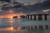 Boca Grande old fishing pier sunset (wiltsepix) Tags: 1740mm markii 5d marki canon sunset beach florida island gasparilla grande boca