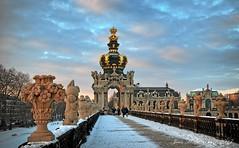 Kronentor vom Zwinger - Dresden (JeanM.DD) Tags: europe deutschland germany dresden elbe saxony europa world sachsen zwinger kronentor