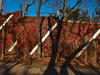 Bronx Zoo (www.jmwork.com) Tags: bronx bronxzoo wall shadows stripes