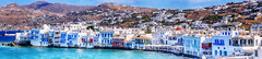 Little Venice (Kevin R Thornton) Tags: d90 landscape travel mediterranean littlevenice greece panorama mykonos architecture nikon mikonos egeo gr