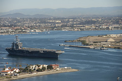 161219-N-ZY005-037 (U.S. Department of Defense Current Photos) Tags: usstheodoreroosevelt cvn71 underway aircraftcarrier sandiego navalbasecoronado nasni california unitedstates us