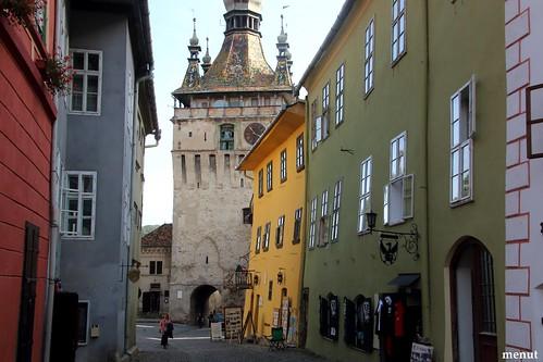 Un altre carrer de Sighisoara - Romania - Another Street of Sighisoara