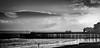 Southsea pier (spencerrushton) Tags: spencerrushton spencer canon canonlens canonl 5dmkiii 5d manfrotto manfrottotripod southsea sun sky sea seaside blackandwhite beautiful black white monochrome bw rushton raw lightroom man daylight day dayout digital dslr dethoffield detail dof d 24105mm canon24105mmlf4