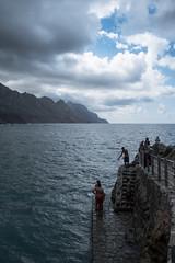 The bathers (jfsouto) Tags: canaryislands españa islascanarias spain tenerife bathers people beach sea