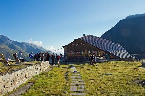 At the Sulzenauhutte, Stubai Alps, Austria