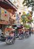 Hanoi Old Quarter (grab a shot) Tags: panasonic dmcgx80 lumixg vietnam hanoi 2016 oldquarter hoankiemdistrict bicyclerickshaw pedicab lanterns