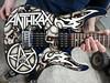 "Anthrax Guitar (""Gutz"") Tags: anthrax guitar scott ian jackson heavy metal big 4 custom paint airbrush airbrushed airbrushing"