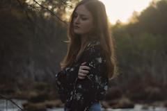 331/366: warm winter (Andrea · Alonso) Tags: me selfportrait autorretrato 366 365 light contraste hair woman pelo mujer chica girl portrait retrato luz sunset atardecer