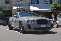 Bentley Continental Supersports Coupé (D's Carspotting) Tags: bentley continental supersports coupé monaco grey 20130802 8074