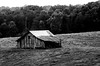 Barn on a misty day II (Christopher Wallace) Tags: barn summer farm agriculture virginia southwestvirginia nikond7000 nikon bwnd110 nd110 longexposure architecture building old blackandwhite black white mono
