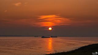 Sunset Volkerak