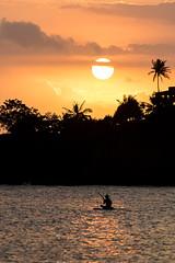 Lovely sunset at Senggigi Beach (Tim&Elisa) Tags: lombok sunset sun canon indonesia asia landscape sea water clouds senggigi beach