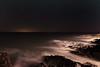 Irish Sea (shaymurphy) Tags: smp82772 irish sea water ocean night photography long exposure waves smokey rocks moonrise sky stars dark clouds nikond700