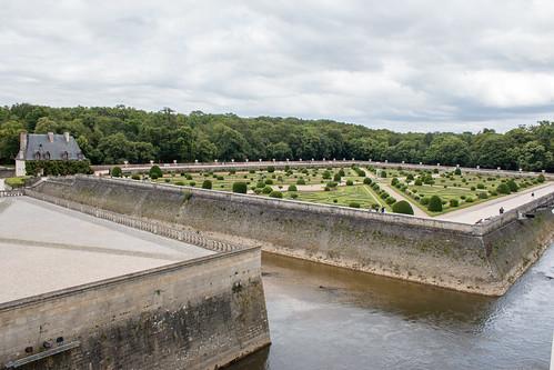 Le Jardin de Diane de Poitiers au Château de Chenonceau