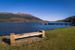 Loch Lomond [EXPLORED - 05/02/2017] (Luca Quadrio) Tags: lochlomond landscape sunset unitedkingdom isle water outdoor lake destination view uk scotland blue highland scottish scenery beautiful travel scene lomond island sky park nature europe mull mountain