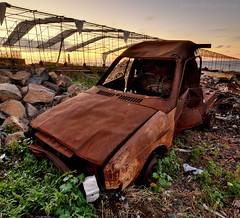 Twilight (Beatriz-c) Tags: twilight sunset decay ocaso crepúsculo atardecer car coche exterior outdoor nikon 5300