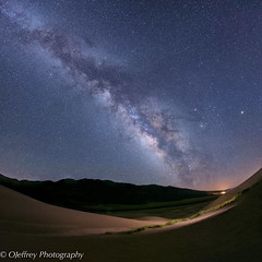 In the Night (OJeffrey Photography) Tags: greatsanddunes gsdnp nationalpark nightsky nightscape milkyway stars starscape squareformat square lowlevellight lll mountains colorado co nikon d800 ojeffrey ojeffreyphotography jeffowens