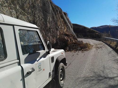 Strada verso Norcia - Castellccio (PG)
