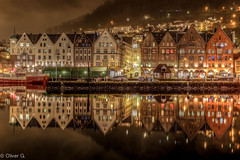 Bergen (jeolpe) Tags: hurtigruten2017 norwegen 1homepage bergen urlaub water wasser spiegel spiegelbild