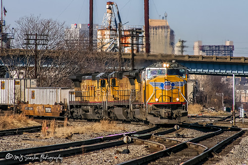 UP 4575 | EMD SD70M | NS Memphis District