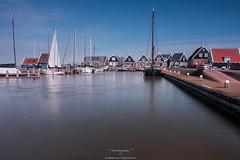 Marken harbor-2 (Rudaki1959) Tags: landsapes water sky netherlands clouds history harbor landscapes boats marken holland