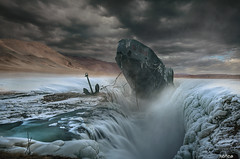 Icy Grave (Noro8) Tags: icy grave boat anchor snow mouuntains apocalypse postapocalypse surreal mood atmosphere processing photoshop brushes noro8 cool style