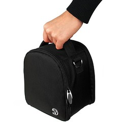 Travel Shoulder Bag Carrying Case (Black) For Nikon Coolpix L120, V1, P100, P500, P7000, P7100, D3800, D800 Digital SLR DSLR Professional Camera (ShoppingSecurelyOnline) Tags: v1 p500 p100 p7000 p7100 d3800 d800digitalslrdslrprofessionalcamera travelshoulderbagcarryingcaseblackfornikoncoolpixl120