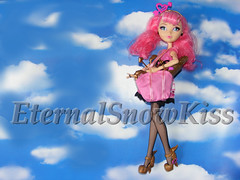 How to make a Bag for your Dolls ( eternal-snow ) Tags: bag diy high doll pattern sewing barbie after easy ever tutorial shoppingbag everafterhigh