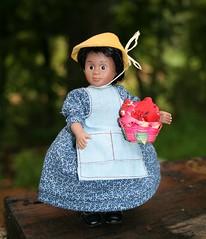 Mini Addy's friend, Sarah Moore (Crazyquilter) Tags: vanessa doll 1998 sarahmoore minidoll battat collectorslanekids