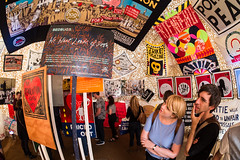 12 posters (c.richard) Tags: art coast banksy somerset exhibition tropicana westonsupermare holidayresort samyang olympusep5 samyang75 dismaland
