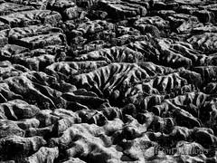 Patterns in limestone