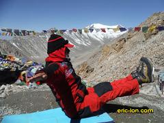 Yoga trekking in Ladakh Khardungla (Eric Lon) Tags: india ski mountains yoga trekking trek ladakh inde montagnes ericlon yogatrekking