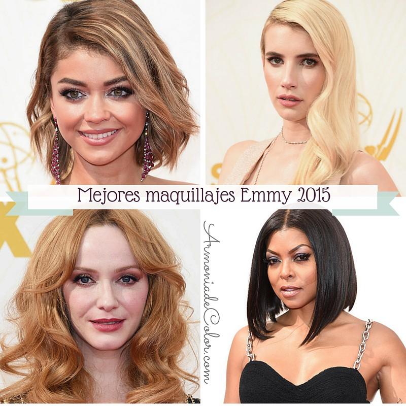 Mejores maquillajes de los Emmy 2015