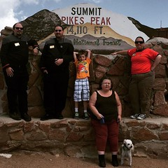 The Zebulon Pike crew on an away mission to the top of Pikes Peak. #ZebulonPike #PikesPeak #Colorado #StarTrek #SFI #Starfleet / on Instagram https://instagram.com/p/6_Ej-eMmvb/