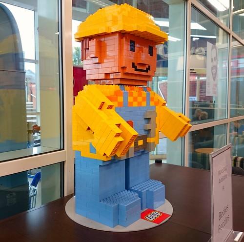 Unexpected Bob the Builder in Beccles Tesco/Costa.
