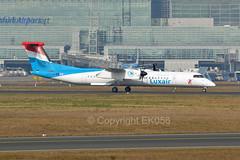 Luxair De Havilland Canada DHC-8-402Q LX-LGG (EK056) Tags: canada de luxair havilland dhc8402q lxlgg