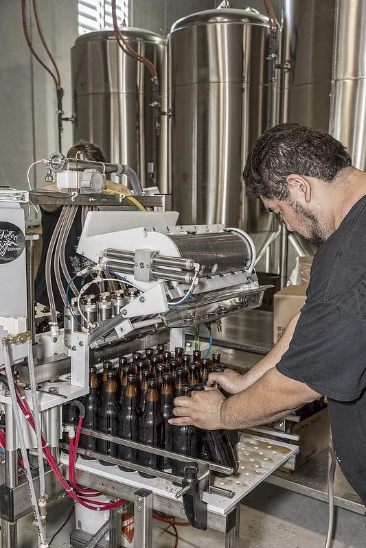 Brewmaster at work