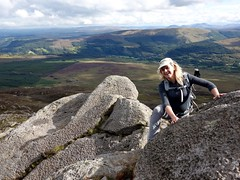 """Edita scrambling up Moel Siabod • <a style=""""font-size:0.8em;"""" href=""""http://www.flickr.com/photos/41849531@N04/21403753960/"""" target=""""_blank"""">View on Flickr</a>"""