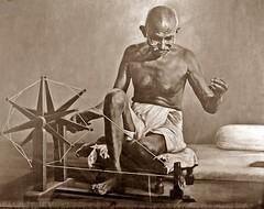 Remembering Mahatma Gandhi (Veena Nair Photography) Tags: india nonviolence spinningwheel bapu gandhiji ahimsa freedomfighter october2nd charkha fatherofthenation gandhijayanti mahatmagandhibirthanniversary veenanairphotography sabarmatiashramahmedabad