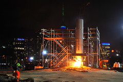 Nuit Blanche 2015 (Marcanadian) Tags: street morning toronto ontario canada building art public festival architecture night downtown artist exhibit quay queens installation blanche nuit 2015