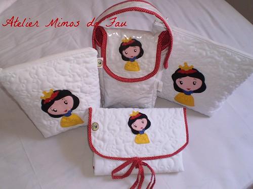 Kit para Bebê Branca de Neve